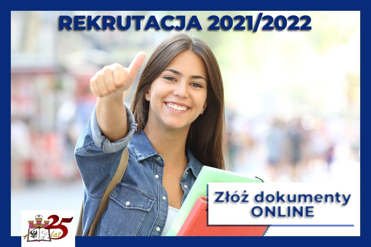Aktualności KSW: Rekrutacja na studia w roku akademickim 2021/2022.
