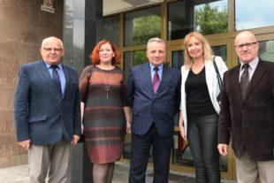 Kujawska Szkoła Wyższa - Galeria: Wizyta Dyrektora Instytutu Zdrowia Publicznego Sumy State University z Ukrainy