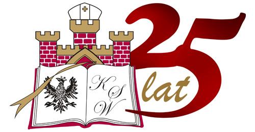 Kujawska Szkoła Wyższa we Włocławku - 25 lat - logo